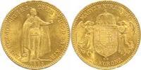 20 Korona Gold 1893  KB Ungarn Franz Josef...