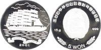 5 Won 2001 Korea-/Nord Volksrepublik seit ...