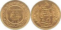 20 Francs Gold 1892  A Tunesien Ali Bey 1882-1902. Sehr schön-vorzüglic... 255,00 EUR  +  5,00 EUR shipping