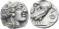 Tetradrachme 440-410 v.  Attica Athen Perf...