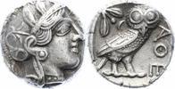 Tetradrachme 440-4 v. Ch Attica Athen Perf...