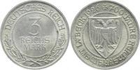 3 Reichsmark 1926  A Weimarer Republik  Fe...