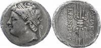 10-Litren 215-214 v.  Sicilia Stadt. Syrak...