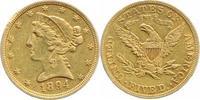 5-Dollars Gold 1894 Vereinigte Staaten von...