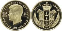 250 Dollars Gold 1988 Niue Unter Verwaltun...