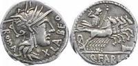 Denar 124 v. Chr Republik Q. Fabius Labeo ...