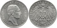 3 Mark 1910  E Sachsen Friedrich August II...