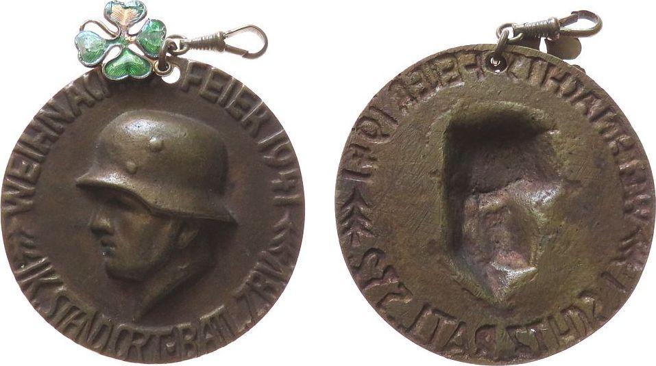 medaille 1941 weihnachtliche motive bronzegu. Black Bedroom Furniture Sets. Home Design Ideas