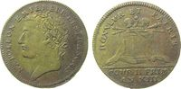Frankreich Jeton Messing Napoleon Empereur (1804-14) - Honneur et Patrie, Büste nach links / Pode