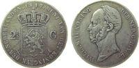 2 1/2 Gulden 1847 Niederlande Ag Willem II...