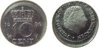 10 Cent 1980 Niederlande KN Juliana, dezen...