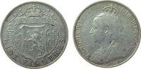 9 Piaster 1901 Zypern Ag Victoria ss