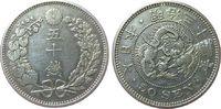 Osaka F.stgl 1897 Linnartz Japan Mutsuhito 50 Sen Meiji 31