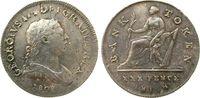 30 Pence Token 1808 Irland Ag Georg III, B...