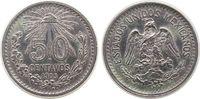 50 Centavos 1905 Mexiko Ag Adler, kleiner ...