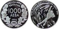 1000 Leva 1996 Bulgarien Ag Olympiade Eiss...