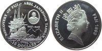10 Dollars 1993 Fidschi Inseln Ag Abel Jan...