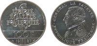 100 Francs 1987 Frankreich Ag Lafayette, P...