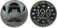 100 Francs / 15 1995 Frankreich Ag Alhambr...