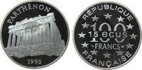 100 Francs / 15 1995 Frankreich Ag Parthen...