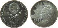 1000 Dinara 1981 Jugoslawien Ag 40. Jahres...