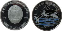 5 Won 2002 Korea Nord Ag Orca (Killerwal),...