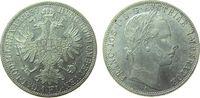 Gulden 1859 Österreich Ag Franz Joseph I (...