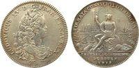 Frankreich Jeton Silber Louis XV, Chambre de commerce, F.6305 (var. buste), Durchmesser 30,8 MM