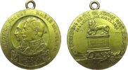 tragbare Medaille 1909 vor 1914 Bronze Fri...