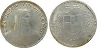 5 Franken 1923 Schweiz Ag HMZ 1199 vz