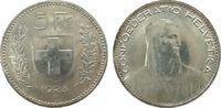5 Franken 1923 Schweiz Ag HMZ 1199 vz+