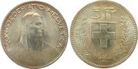 5 Franken 1923 Schweiz Ag HMZ 1199, Divo 3...