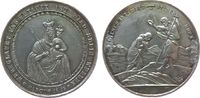Medaille o.J. Taufe Silber Taufe Christi i...