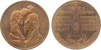 Medaille 1923 Weimarer Republik Bronze Not...