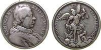 Medaille 1721 Vatikan Silber Innozenz XIII...