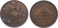 Medaille 1896 Landwirtschaft Bronze Saarlo...