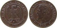 2 Centimes 1862 Frankreich Br Napoleon III...