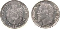 1 Franc 1868 Frankreich Ag Napoleon III, A...
