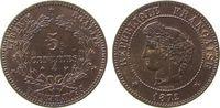 5 Centimes 1872 Frankreich Br Ceres, A (Pa...