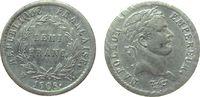 1/2 Franc 1808 Frankreich Ag Napoleon Empe...