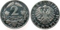 2 Schilling 1947 Österreich Al 2. Republik pp
