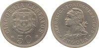 50 Centavos 1928 Angola NiBr unter Portuga...