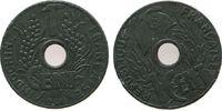 1 Cent 1941 Französisch Indochina Zink Gad...