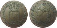 1 Sol 1791 Frankreich Ku Louis XVI, R (Orl...