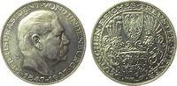 Medaille 1927 Goetz Silber Paul von Hinden...