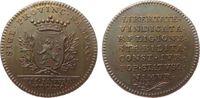 Medaille 1790 Niederlande Bronze Leopold I...