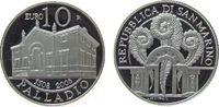 10 Euro 2008 San Marino Ag Palladio, ohne ...