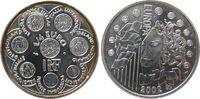 1/4 Euro 2002 Frankreich Ag Europa vz-unc