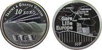 10 Euro 2010 Frankreich Ag Schnellzug TGV pp
