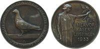 Medaille 1933 Weimarer Republik Silber Bri...